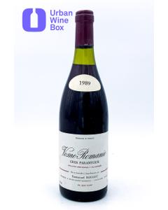 "Vosne-Romanée 1er Cru ""Cros Parantoux"" 1989 750 ml (Standard)"