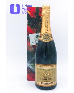 """9999 Brut Reserve """"Tête de cuvée"""" Champagne Charles De Cazanove"""