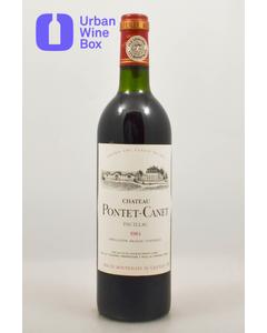 1984 Pontet-Canet Chateau Pontet-Canet
