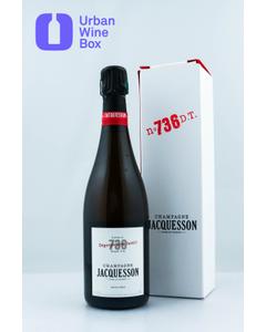"""9999 Extra Brut """"Cuvée 736 - Dégorgement Tardif"""" Jacquesson"""
