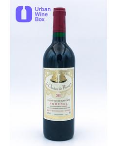 Le Clocher de Rouget 2001 750 ml (Standard)