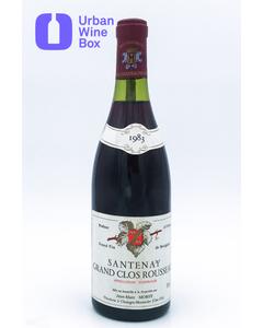 "Santenay ""Grand Clos Rousseau"" 1983 750 ml (Standard)"