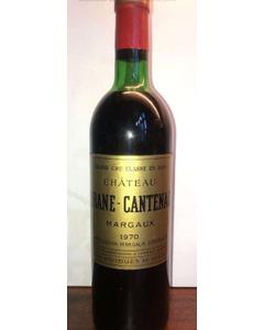 Brane-Cantenac 1970 750 ml (Standard)