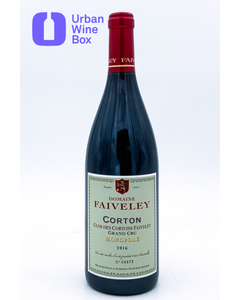 "Corton Grand Cru ""Clos des Cortons Faiveley"" 2016 750 ml (Standard)"