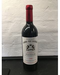 1990 Grand-Puy Ducasse  Chateau Grand-Puy Ducasse