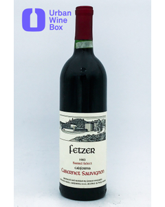 "1983 Cabernet Sauvignon ""Barrel Select"" Fetzer Vineyards"