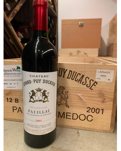 2001 Grand-Puy Ducasse  Chateau Grand-Puy Ducasse