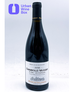"""Chambolle-Musigny 1er Cru """"Les Chatelots"""" 2008 750 ml (Standard)"""