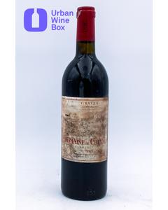 Chevalier Rouge 1985 750 ml (Standard)