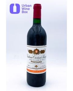 Croizet-Bages 1992 750 ml (Standard)