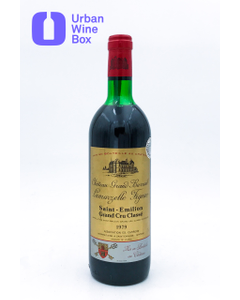 Grand Barrail Lamarzelle Figeac 1979 750 ml (Standard)