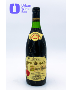 "Rioja Gran Reserva ""Monte Real"" 1978 750 ml (Standard)"