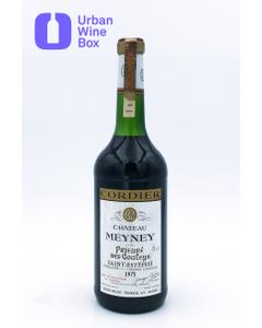"Meyney ""Prieuré des Couleys"" 1975 750 ml (Standard)"