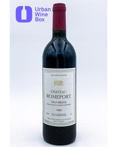 "Romefort ""Haut-Médoc"" 1992 750 ml (Standard)"