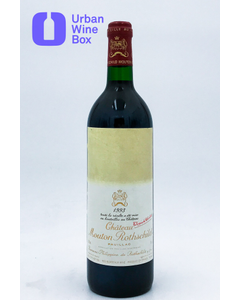 "Mouton Rothschild ""US edition"" 1993 750 ml (Standard)"