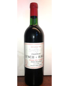 1975 Lynch-Bages Chateau Lynch-Bages