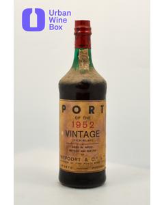 "1952 Ruby Vintage Port ""Port of the 1952 Vintage"" Niepoort"