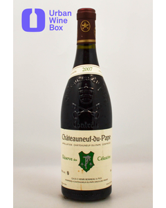 """2007 Chateauneuf-du-Pape """"Reserve des Celestins"""" Henri Bonneau"""