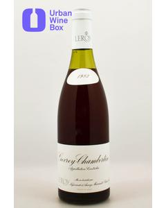 """1982 Gevrey-Chambertin """"Clos des Chezeaux"""" Domaine Leroy"""